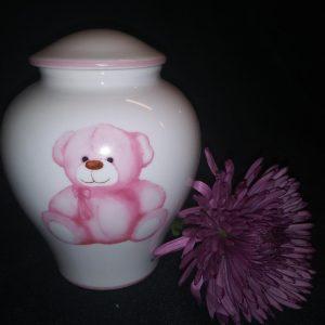 pink urn